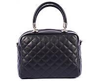 Кожаная стёганая сумочка Virginia Conti