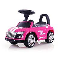 Детская  машинка каталка Sporty Ride-On Racer розовая Milly Mally  Польша