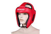 Шлем каратэ SENAT, кожзам