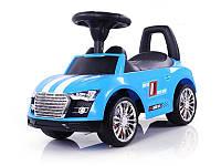 Детская  машинка каталка Sporty Ride-On Racer синяя Milly Mally  Польша