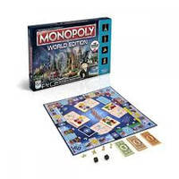 Настольная игра Монополия Всемирное Издание: Здесь и сейчас Monopoly Here and Now: The World Edition 8+ 2-4 иг
