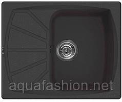 Черная гранитная мойка 61 см Sofia G6150 400