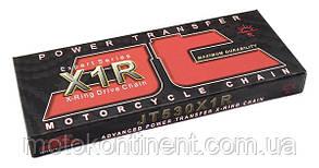 Мото ланцюг 530 120 ланок JT JTC530X1RGB з ущільненнями X-Ring чорно-золота, фото 2