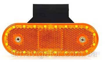 Габарит боковой светодиодный LED желтый WAS 534Z