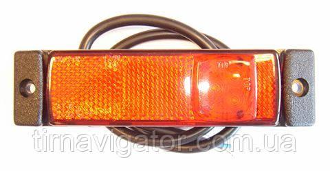 Габарит светодиодный задний LED (боковой, красный) (LD129)