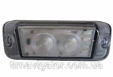 Габарит светодиодный на кабину DAF/MB 100*40 LED (белый)