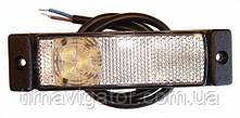 Габарит светодиодный передний LED (белый) (LD127)
