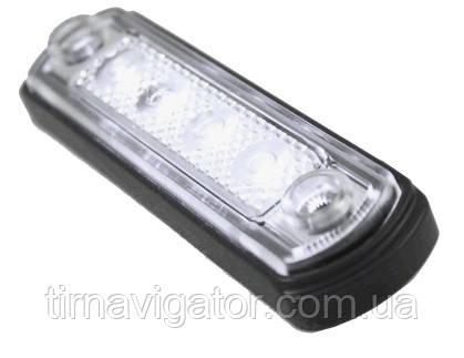 Габарит светодиодный передний LED (белый) (LD675)