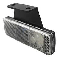 Габарит светодиодный передний LED (белый, с кронштейном, правый) (LD454)