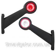 Габаритный-рог боковой LED (45* длинный, правый) (LD726)
