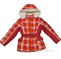 Куртка зимняя для девочки Мишель Деньчик 8026 122