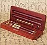 Эксклюзивные ручки в подарочном футляре с подставкой для визиток Albero Ode DS319269FB, фото 5