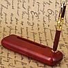 Подарочная шариковая ручка с подставкой под визитки Albero Ode 21S269, фото 10