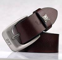 Качественные мужские кожаные ремни LEE. Практичный и стильный дизайн. Удобный ремень. Купить. Код: КДН1569