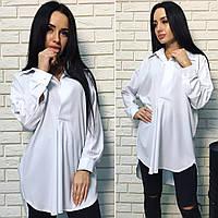 Женская блуза свободного покроя