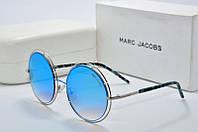 Солнцезащитные очки круглые Marc Jacobs голубые, фото 1