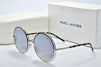 Солнцезащитные очки круглые Marc Jacobs зеркальные, фото 1