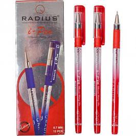 """Ручка """"I Pen"""" RADIUS с принтом 12 штук, синяя оптом"""