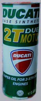 Масло моторное DUCATI 2T DUE MOTO (синтетика)