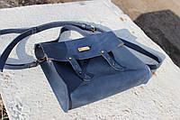 Кожаная сумка ручной работы Винтаж биг