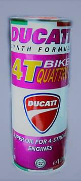 Масло моторное DUCATI 4T QUATTRO BIKE (синтетика)