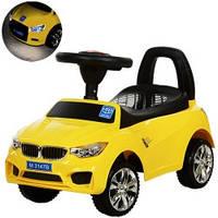 Каталка-толокар BMW M 3147B-6 музыка, свет (желтый)