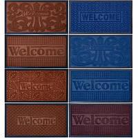 Коврик резиновый «Welcome»  45×75 см (арт.КРW45/75)