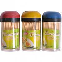 Зубочистки бамбуковые набор 3 штуки (арт.201-3)