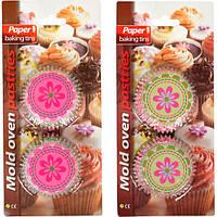 Формочки для кексов бумажные 50 штук (арт.ФБ50)