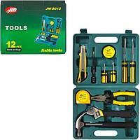 Чемодан инструментов 11 предметов (арт.JM-8012)
