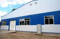 Промышленные здания, заводы, складские здания, работы по реконструкции