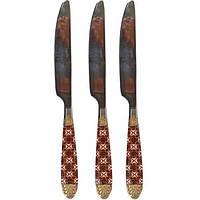Нож столовый «Четырехлистник золотой» (арт.KWknQG)