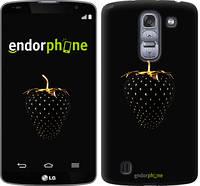 """Чехол на LG G Pro 2 D838 Черная клубника """"3585c-375"""""""