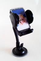 Автомобильный держатель на лобовое стекло с присоской для телефонов и навигаторов, универсальный HOLDER 1001