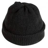 Шапка трикотажная с двойным отворотом, головной убор зимний, шапка теплая вязаная