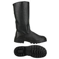7800 Сапоги б/п юфтевые с кирзовыми голенищам зимние