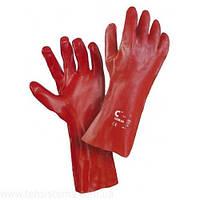 4255 Перчатки с покрытием ПВХ 35 см