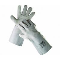 4299 Перчатки сварщика спилковые без подкладки