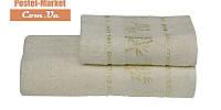 Бамбуковое полотенце Gursan Bamboo кремовое (50х90)