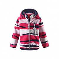 Куртка демисезонная для девочки Reima Vuoksi windfleece 521480, цвет 3723