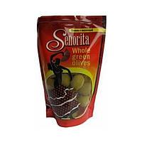 Оливки с косточкой Senorita / Сеньорита,  европакет, 170гр, калибр 300/320, оливки Испания