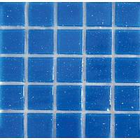 Мозаика одноцветная синяя «FA 02» - 2 x 2 см