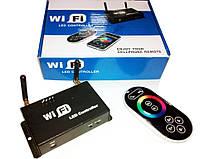 Wi-Fi LED RGB контроллер для управления светодиодным освещением 12 В