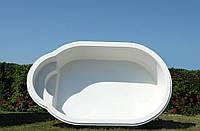 Композитный бассейн Tebas Lido - 3,5 x 2,1 x 0,75 м