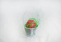 Пасхальный сувенир - корзиночка с писанкой, фото 1