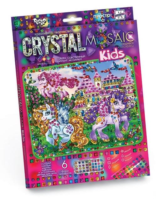 Креативное творчество «CRYSTAL MOSAIC Kids» Danko Toys оптом