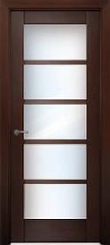 Дверное полотноВена шпон натуральный стекло