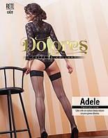 Чулки в сетку со швом Dolores Adele rete