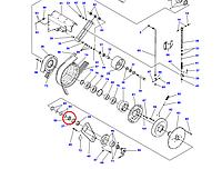 Втулка D28380195 Massey Ferguson
