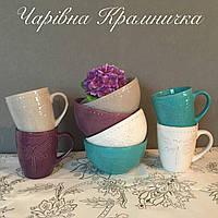Набор посуды Стрекоза кружка и пиала (набор 2 предмета)